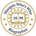 Marquis Who's Who logo for Dr. Moat's biography